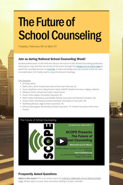 The Future of School Counseling