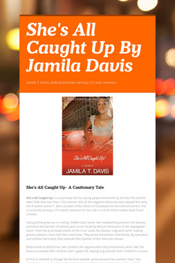 She's All Caught Up By Jamila Davis