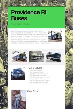 Providence RI Buses