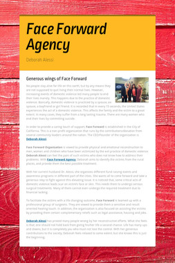 Face Forward Agency