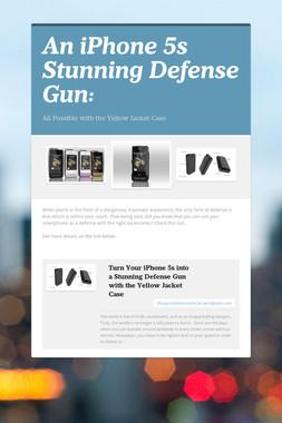 An iPhone 5s Stunning Defense Gun: