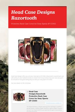 Head Case Designs Razortooth