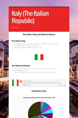 Italy (The Italian Republic)