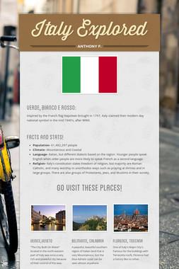 Italy Explored