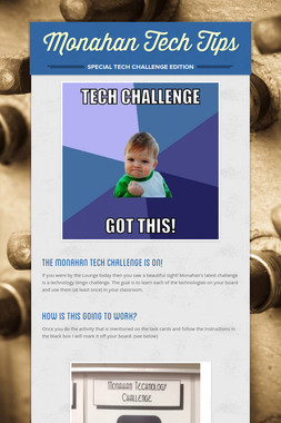 Monahan Tech Tips