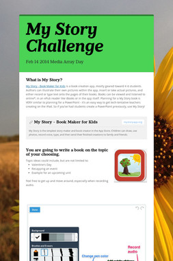 My Story Challenge