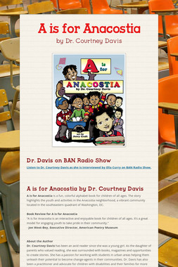 A is for Anacostia