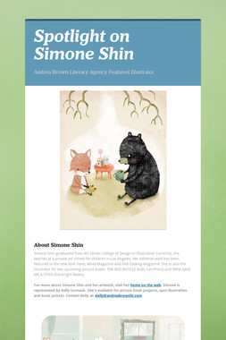 Spotlight on Simone Shin