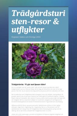 Trädgårdsturisten-resor & utflykter