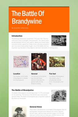 The Battle Of Brandywine