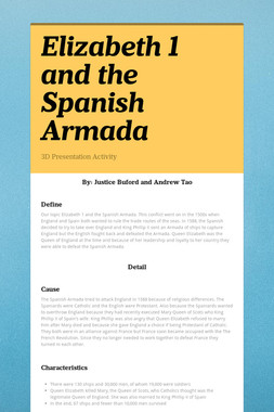 Elizabeth 1 and the Spanish Armada