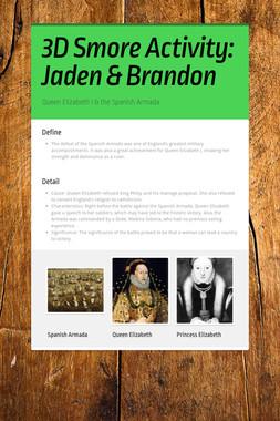 3D Smore Activity: Jaden & Brandon