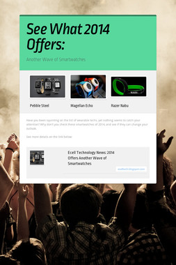 See What 2014 Offers: