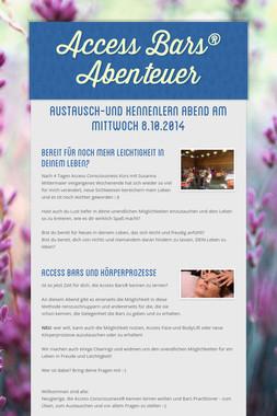 Access Bars® Abenteuer