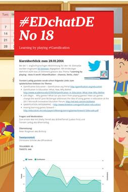 #EDchatDE No 18