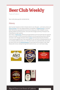 Beer Club Weekly