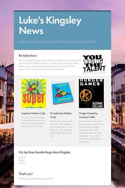 Luke's Kingsley News