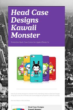 Head Case Designs Kawaii Monster