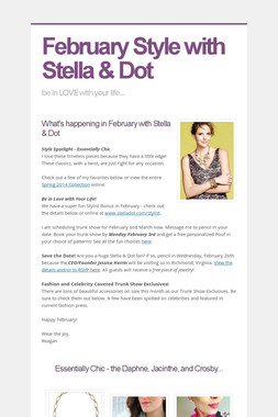 February Style with Stella & Dot