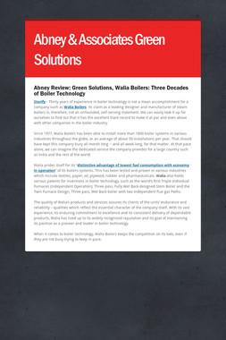 Abney & Associates Green Solutions