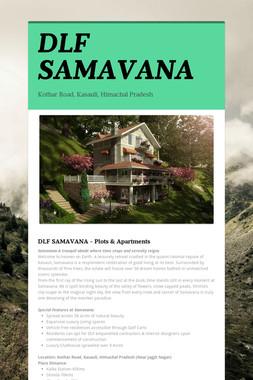 DLF SAMAVANA