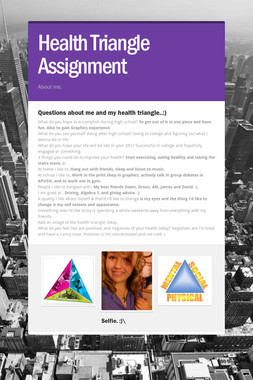 Health Triangle Assignment