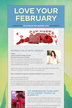 Love your February