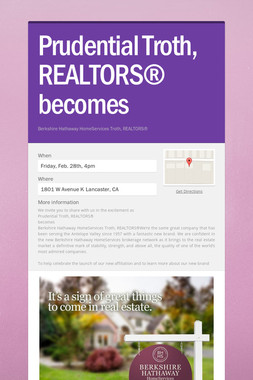 Prudential Troth, REALTORS® becomes