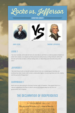 Locke vs. Jefferson