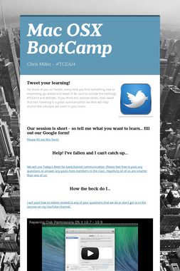 Mac OSX BootCamp