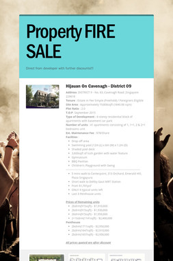 Property FIRE SALE