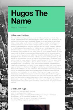 Hugos The Name