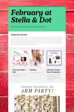 February at Stella & Dot