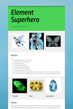Element Superhero