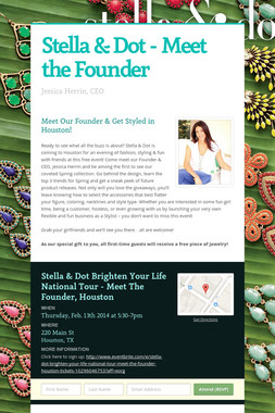 Stella & Dot - Meet the Founder