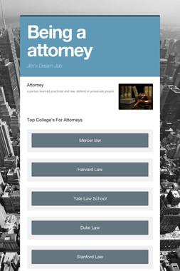 Being a attorney