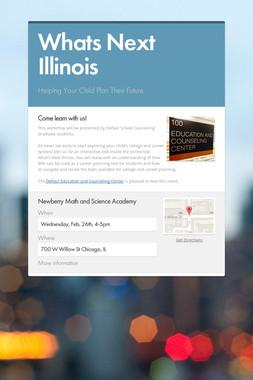 Whats Next Illinois