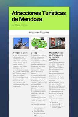 Atracciones Turísticas de Mendoza