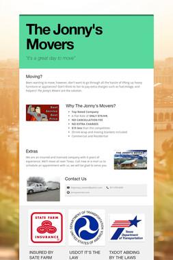 The Jonny's Movers
