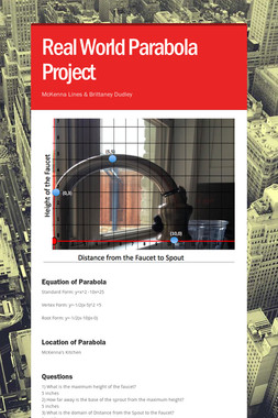 Real World Parabola Project