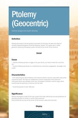 Ptolemy (Geocentric)