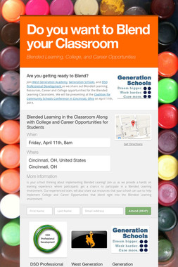 Do you want to Blend your Classroom