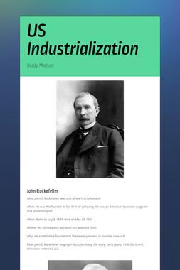 US Industrialization