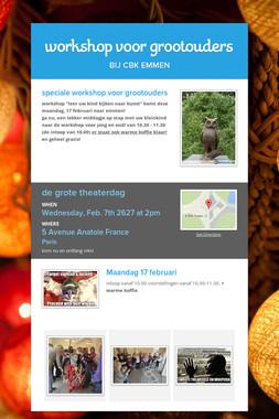 workshop voor grootouders