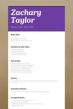 Zachary Taylor