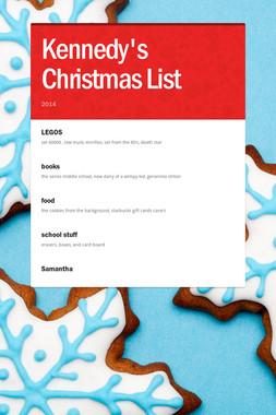 Kennedy's Christmas List