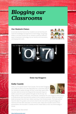 Blogging our Classrooms