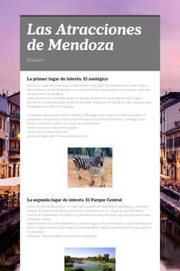 Las Atracciones de Mendoza