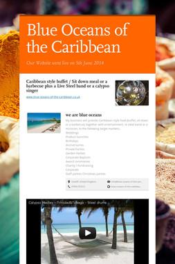 Blue Oceans of the Caribbean