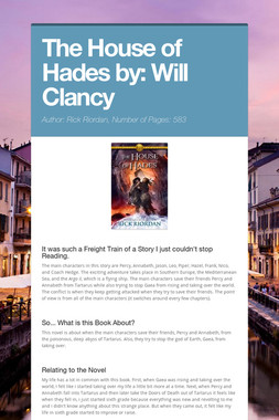 The House of Hades by: Will Clancy